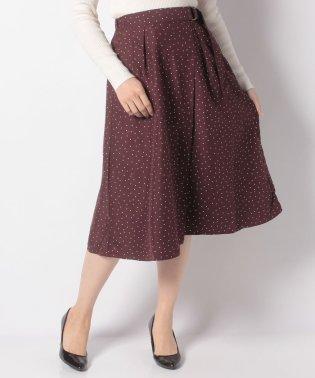 ・ラップドットギャザースカート