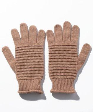 ウールストライプグローブ・手袋