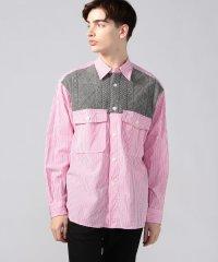 100/2ポプリン デザインシャツ tricot shirt