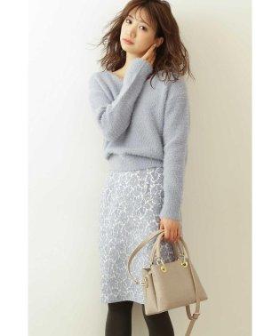 ◆ラメモールジャガードタイトスカート