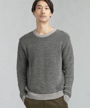 [ジム] SC GIM スペックワッフル クルーネックニット セーター
