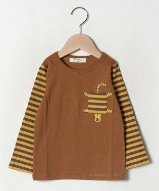 トラポケット長袖Tシャツ
