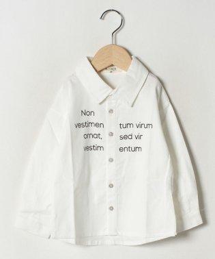 ロゴプリントシャツ