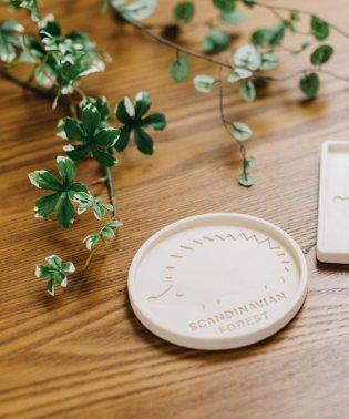 【SCANDINAVIAN FOREST】スカンジナビアンフォレスト 珪藻土コースター サークル サンドベージュ