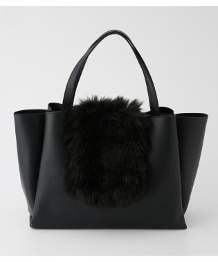 2WAY ECO FUR TOTE BAG