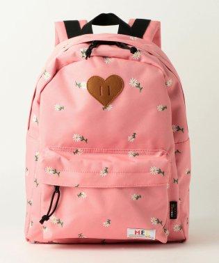 〔別注〕MEI(メイ)デイパックLサイズ/ピンク花柄