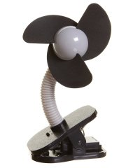 dreambaby ドリームベビー ベビーカー扇風機 クリップオン ファン シルバー×ブラック