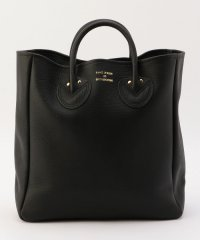 YOUNG&OLSEN EMBOSSED LEATHER TOTE BAG