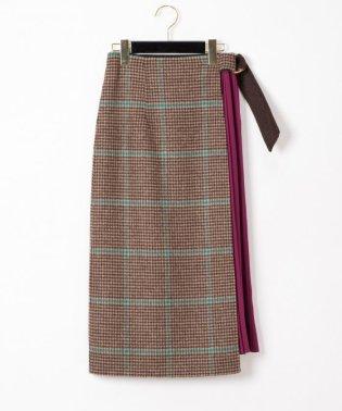 リバーウールプリーツスカート