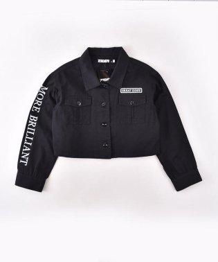 【ニコプチ掲載】ミリタリーシャツ風ツイルジャケット