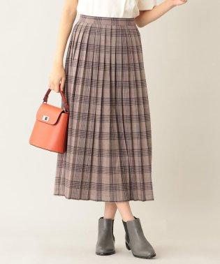 【WEB限定】チェックプリーツスカート