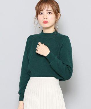 【SENSEOFPLACE】ストレッチモックネックセーター