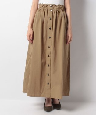 【FbyROSSO】前ボタンロングスカート