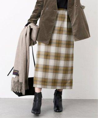 ウールレーヨンタイトスカート