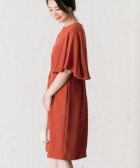 【ROSSO】ケープドレス