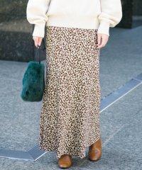 【ROSSO】レオパードスカート