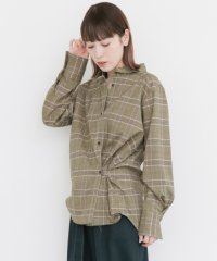 【KBF】2way変型チェックシャツ