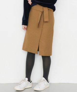 【KBF+】ウエストリボンタイトスカート
