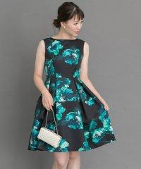 【ROSSO】ビッグフラワープリントドレス