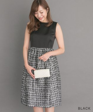 【ROSSO】ラメジャガードドレス