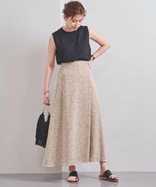 UWSC ゼブラプリント フレアスカート