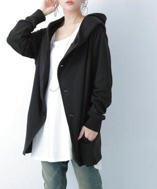 『n'Or洗練フード付きデザインジャケット』