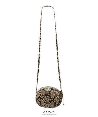 [バッグ 鞄 雑貨 小物]アニマル柄サークルショルダー[190909]コーデのアクセントに