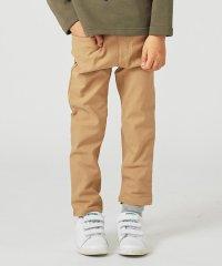 【BOYS/90~130cm】ストレッチツイル裏起毛 パンツ