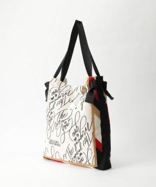 スカーフプリントトートバッグ