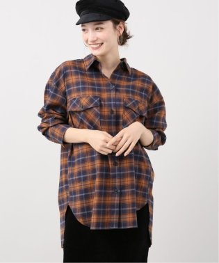 CPOガタネルチェックビックシャツ