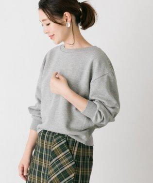 【ROSSO】カラー裏毛ニュアンスプルオーバー