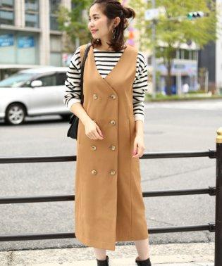 【SonnyLabel】ラップジャンパースカート