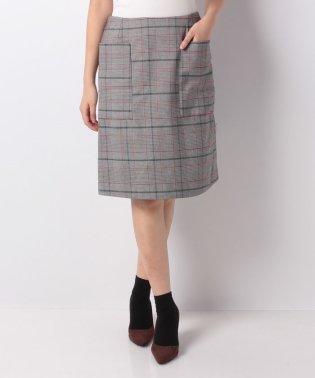 【FbyROSSO】チェックタイトショートスカート