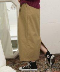 【KBF+】グルカベルトロングタイトスカート