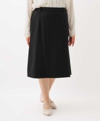 【大きいサイズ】【ジャケットスーツ】ひざ丈台形スカート