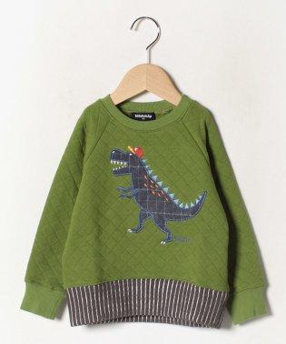 サガラ恐竜キルトトレーナー