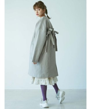 Back Ribbon coat