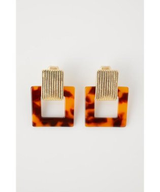 MARBLE SQUARE EARRINGS