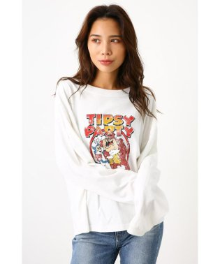 TIPSY PARTY L/S Tシャツ