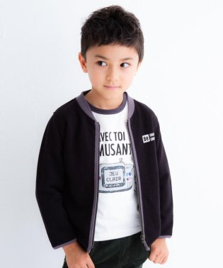 裏毛羽織り&ゲームTシャツセット