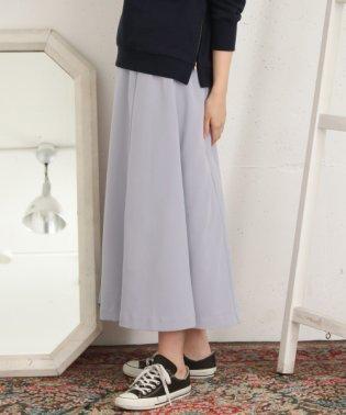 【KBF+】切り替えフレアマキシスカート