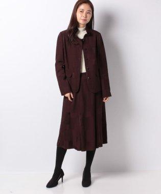 【ROCHAS】マルチ柄スーツ