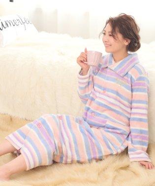 ペアウォーム フリース 着る毛布 (aimerfeel)