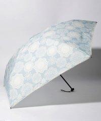 フラワーレース晴雨兼用軽量折りたたみ傘 雨傘