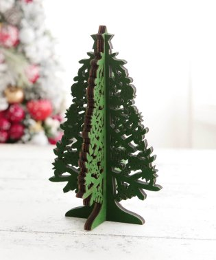 レーザーカットクリスマスツリーS