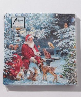 クリスマス柄ナプキン