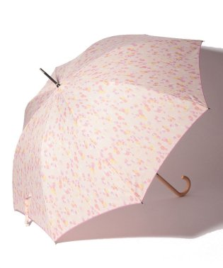 水彩ドット柄晴雨兼用長傘 雨傘