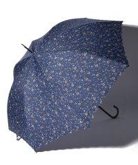 小花柄晴雨兼用長傘 雨傘