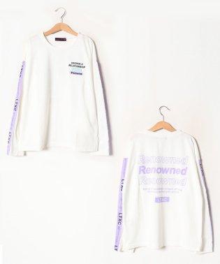 ショルダーロゴテープTシャツ