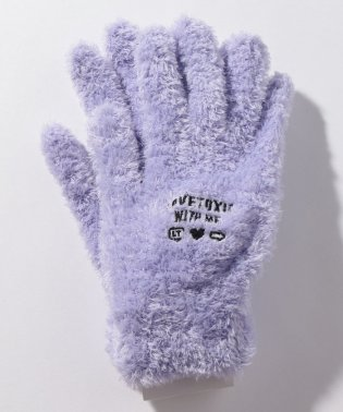 ふわふわ5本指手袋